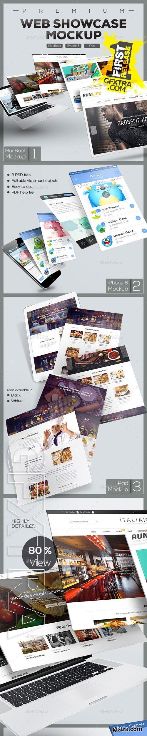 GraphicRiver - Web Showcase Mockup 9608545