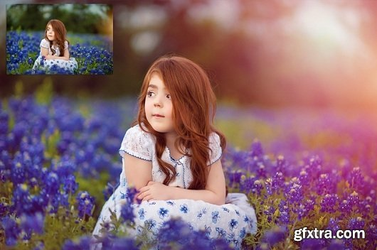 SUMMERANA™ Photoshop Actions - Colorosity Lights Collection