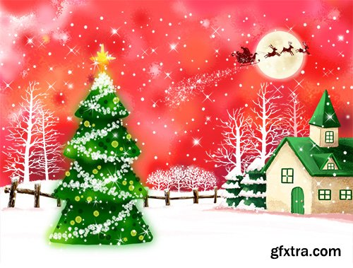 PSD Source - Christmas and New Year 2015 vol.22