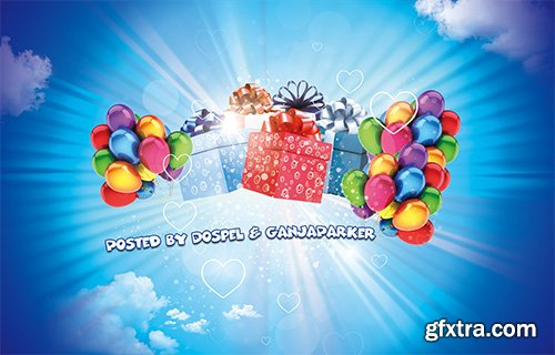 PSD Source - Gifts in Heaven 2014 Vol.5