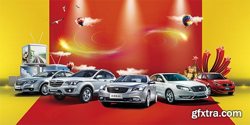PSD Source - Advertise Autosalon 2014