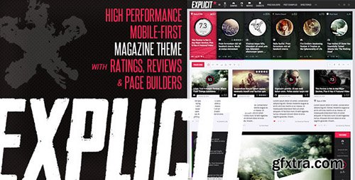 ThemeForest - Explicit v2.2 - High Performance Review/Magazine Theme