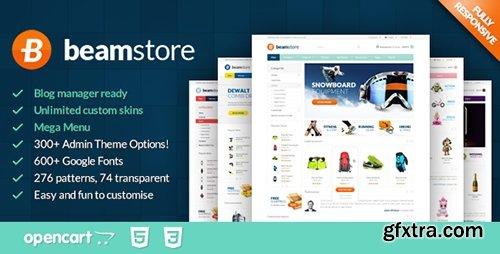 ThemeForest - BeamStore - Responsive Multipurpose Opencart Theme