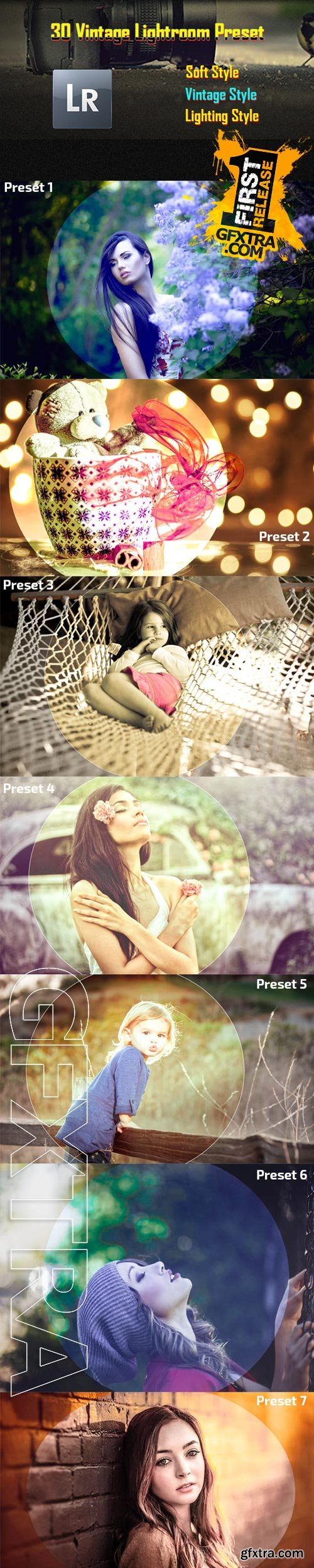 GraphicRiver - 30 Vintage Lightroom Preset 9401390
