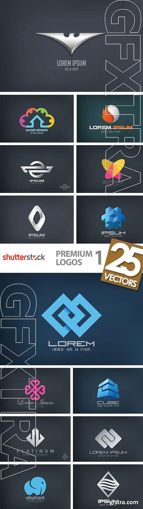 Premium Logos 1, 25xEPS