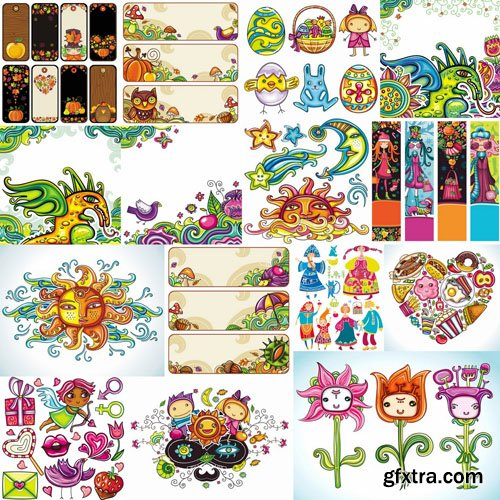 Creative Art Collection - 25 Vector