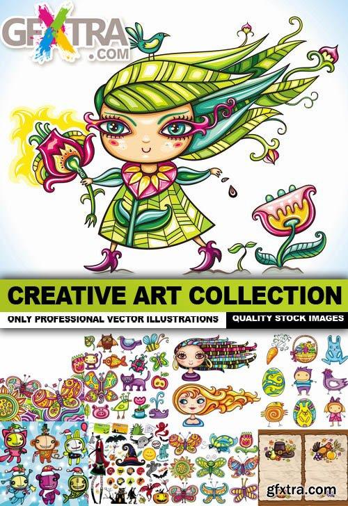 Creative Art Collection - 25 Vector