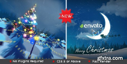 VideoHive Christmas in Moon 9707171