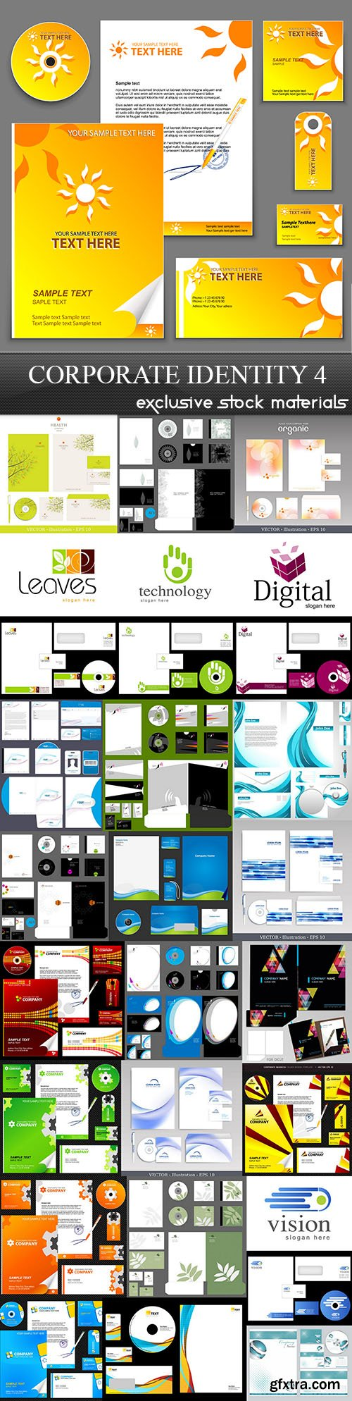 Corporate Identity Collection 4, 25xEPS, AI