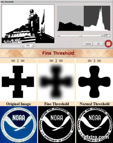 Fine Threshold - Photoshop Plugin