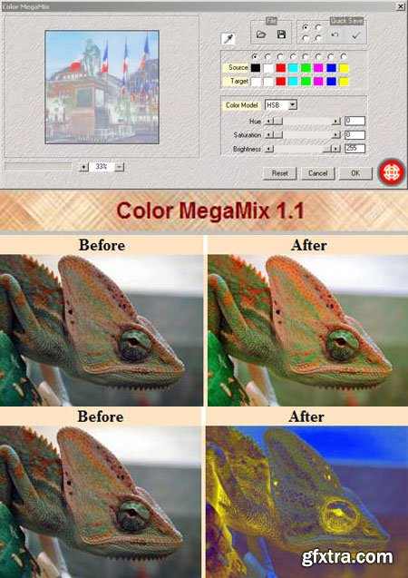 Color MegaMix 1.1 - Photoshop Plug-in