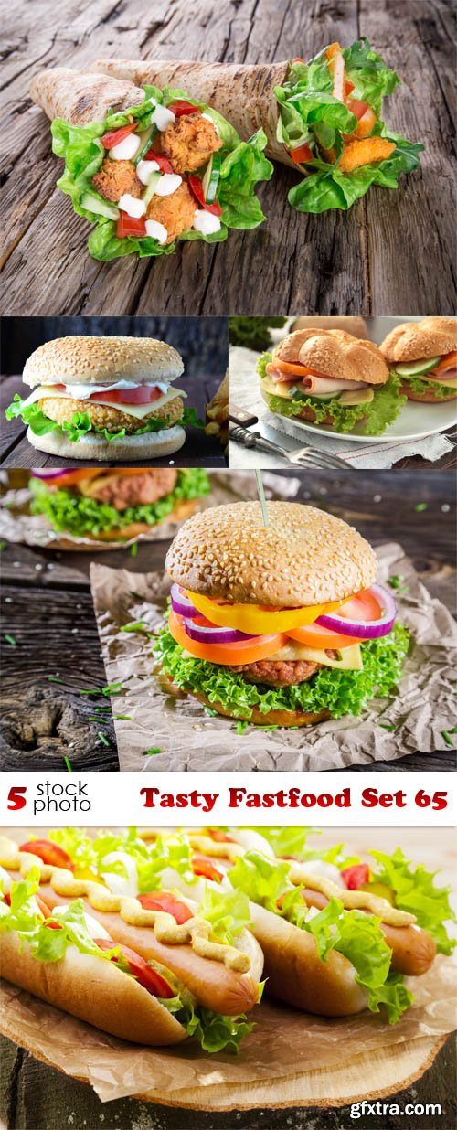 Photos - Tasty Fastfood Set 65