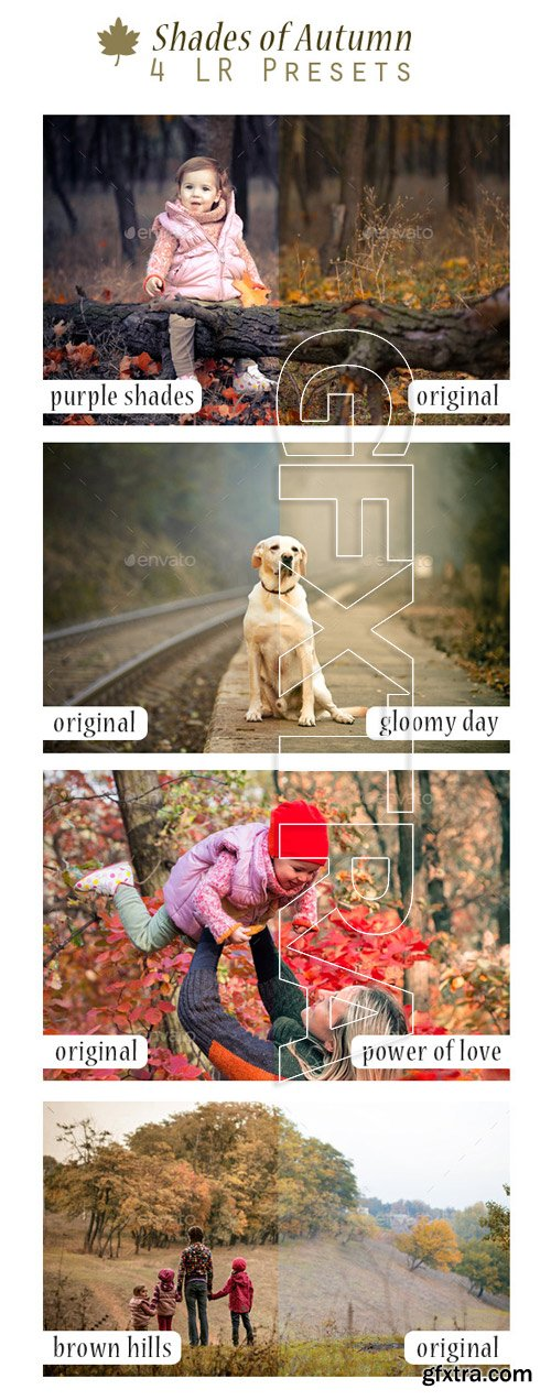 GraphicRiver - Shades of Autumn - 4 LR Presets 9241900
