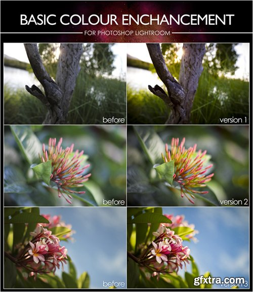Lightroom Presets - Basic Colour Enhancement