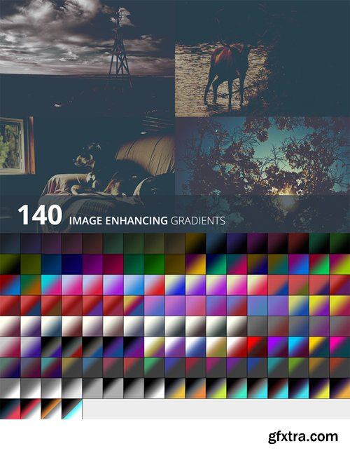 CreativeMarket - 140 Image enhancing gradients 128322