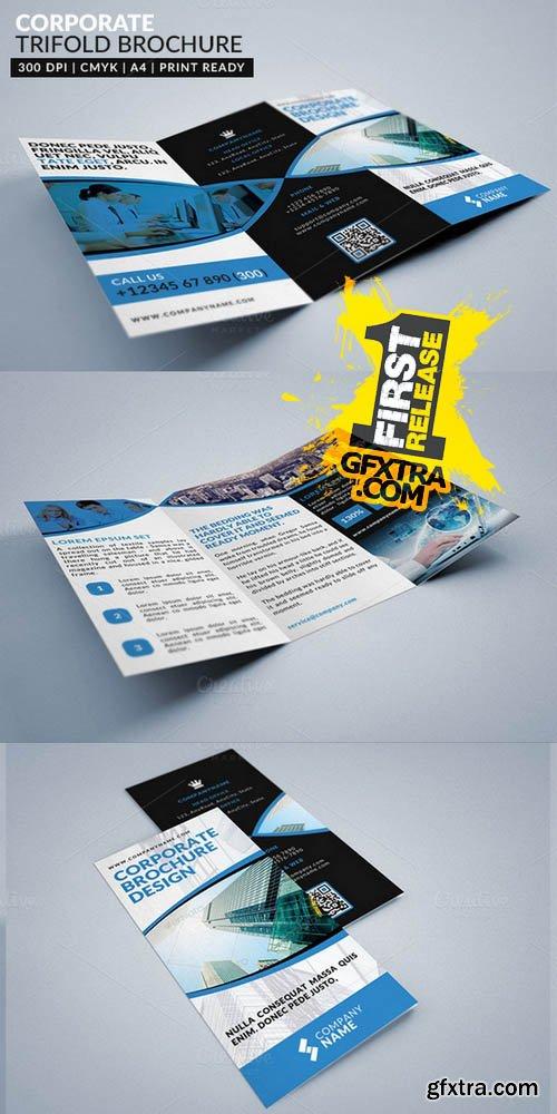 Corporate Multipurpose Trifold 3 - Creativemarket 125814