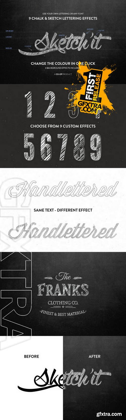 Sketch'it - Chalk and Sketch effects - Creativemarket 82589