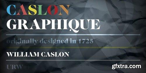Caslon Graphique Font Family $29