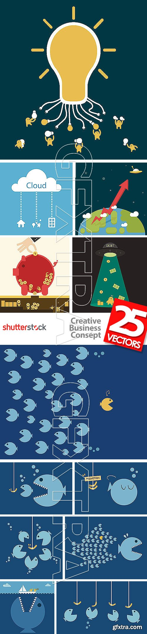 Creative Business Concept 25xEPS