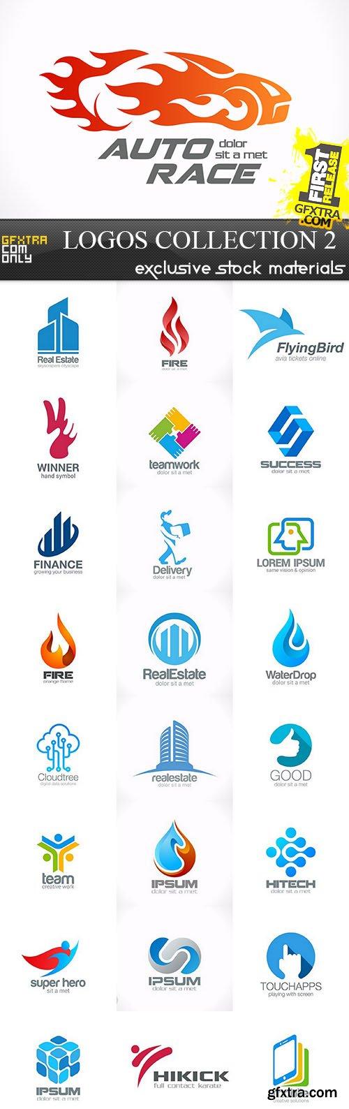 SS Logos - Vector Collection 2, 25xEPS