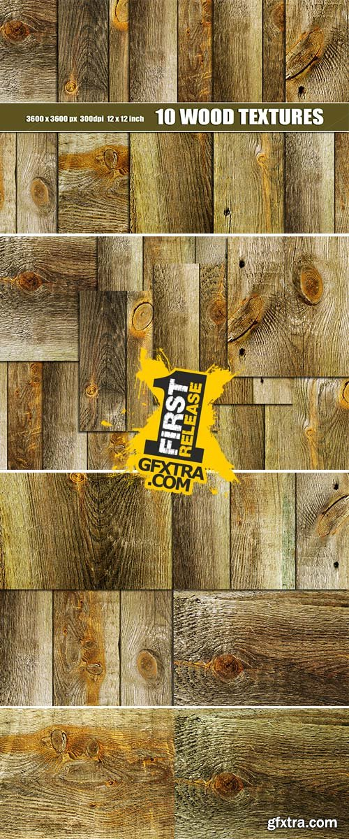 Old distressed wood textures