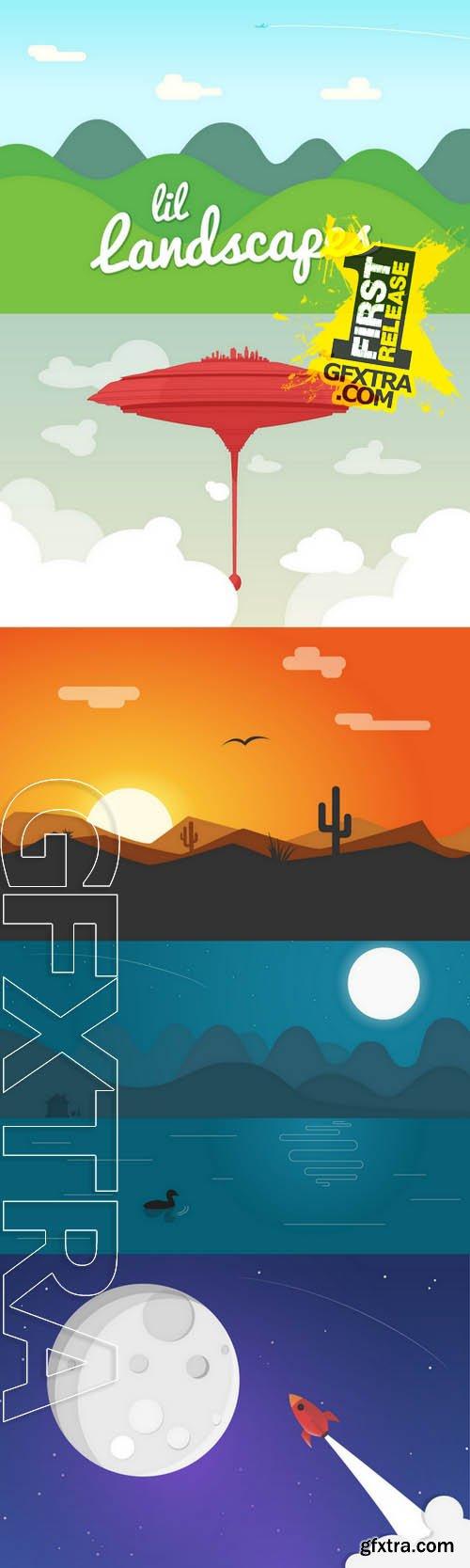 Lil Landscapes - Creativemarket 5766