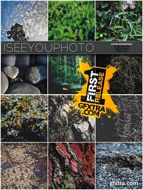 Nature Backgrounds - Iseeyouphoto - Creativemarket 37301