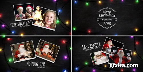 Videohive - Christmas Light Slideshow 9662818