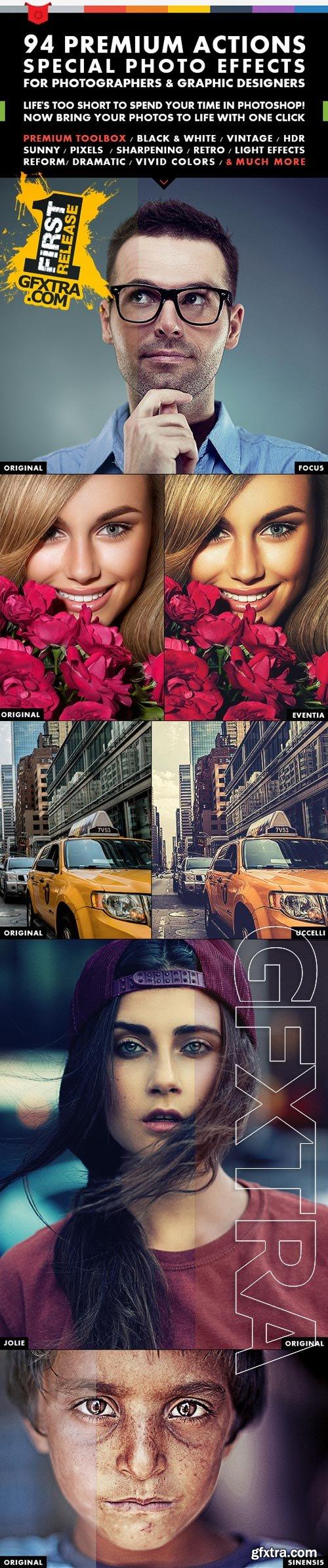 GraphicRiver - 94 Premium Action 9735147