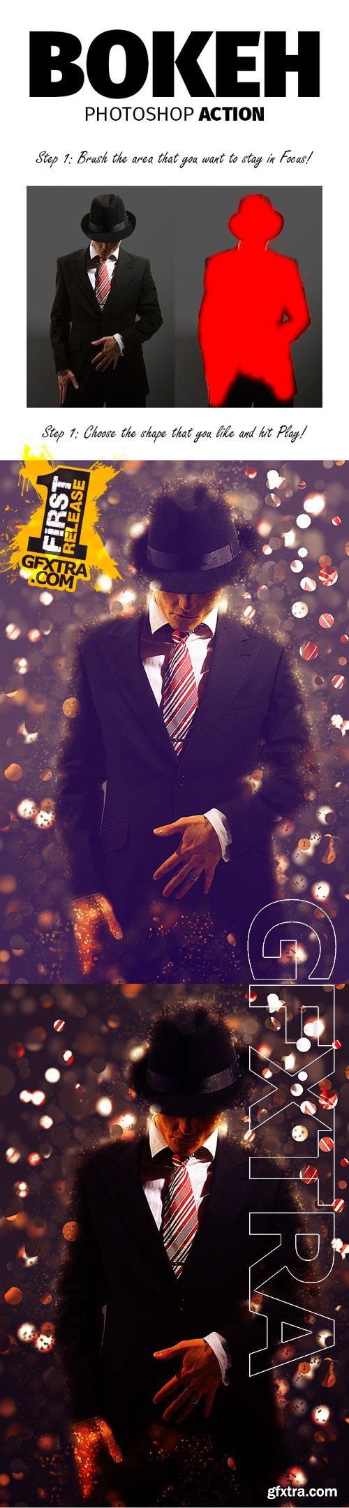GraphicRiver - Bokeh Photoshop Action 9724816