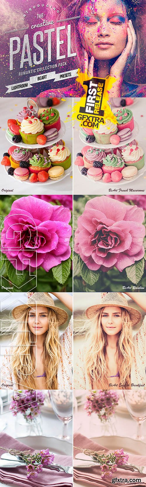 Pastel Colors Lightroom Presets - Creativemarket 107361
