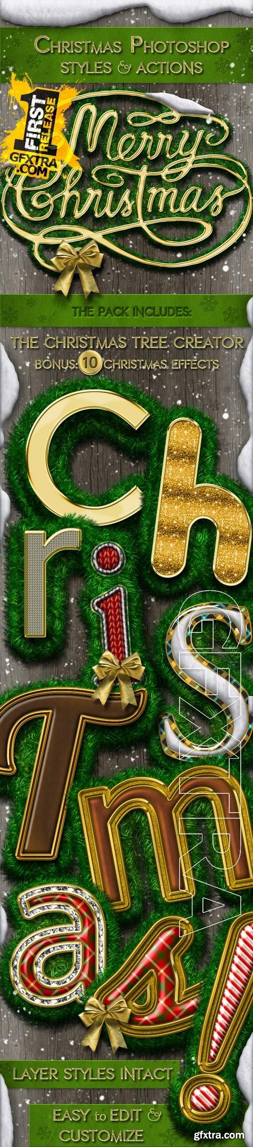GraphicRiver - Christmas Styles Photoshop Creation Kit 9750672