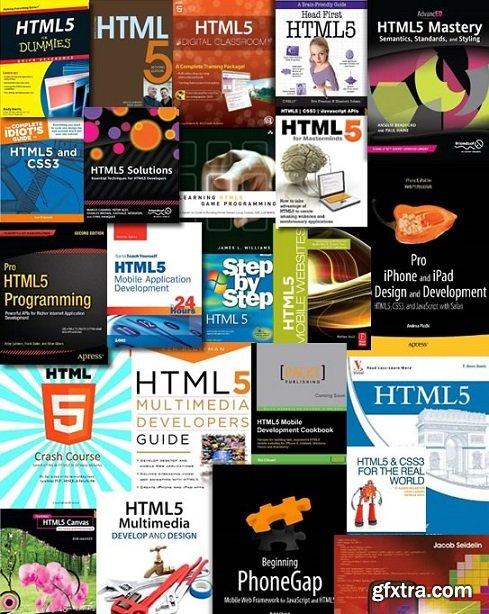 HTML5 eBooks Huge Collection