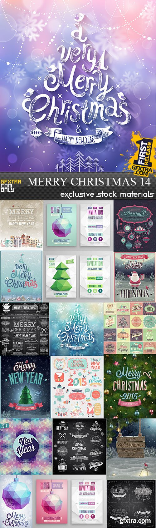 SS Merry Christmas 14, 25xEPS