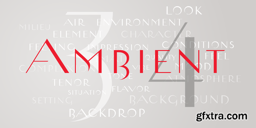 Ambient Font Family $25