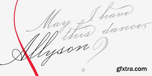 P22 Allyson Font Family $65