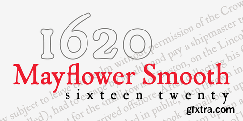 P22 Mayflower Smooth Font Family $90