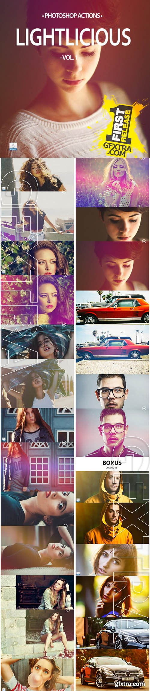 20+ Lightlicious - Photoshop Actions - CM 137507