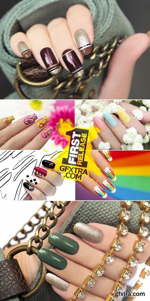Stock Photo - Creative Nails Art