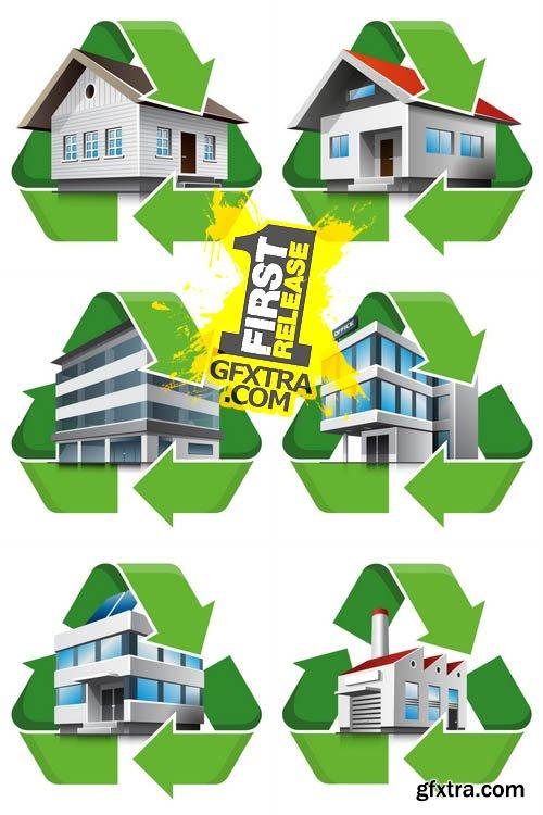Vector - Recycling Symbol