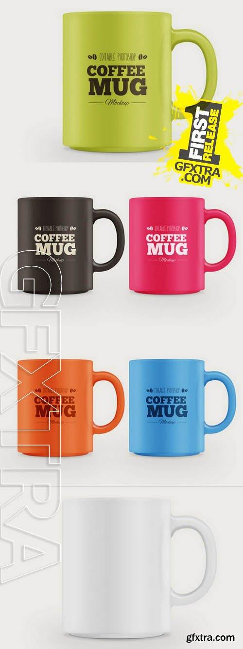 Coffee Mug Mockup - CM 138175