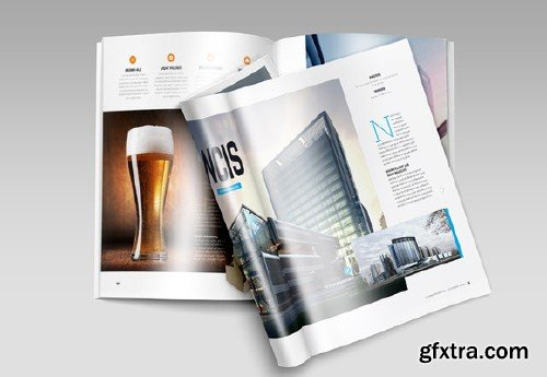 CM - A4 Brochure Magazine Mock-Up 137874