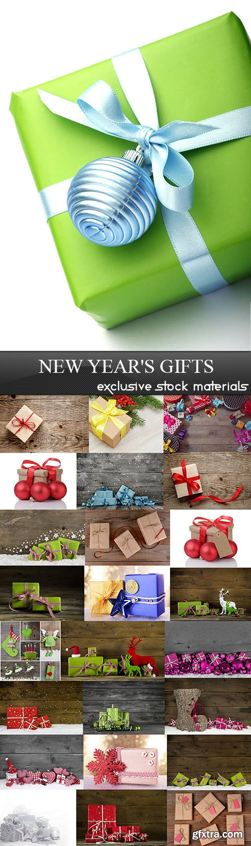 New Year's Gifts, 25xUHQ JPEG