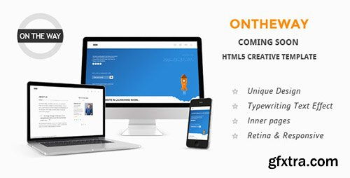 ThemeForest - Ontheway Coming Soon Responsive HTML5 Template - RIP