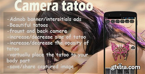 CodeCanyon - Camera Tattoo - Android Source Code