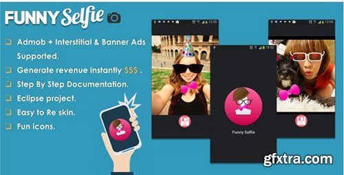 CodeCanyon - Funny Selfie Camera App