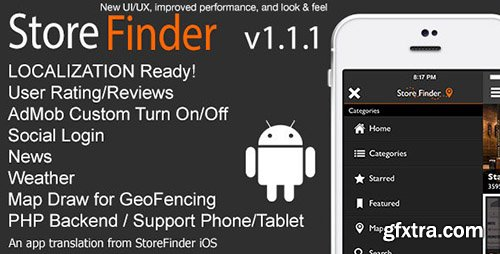 CodeCanyon - Store Finder Full Android Application v1.1.0