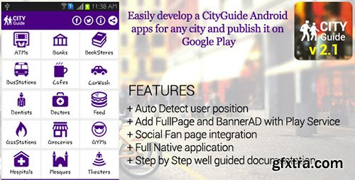 CodeCanyon - City Guide Android Application v2.1