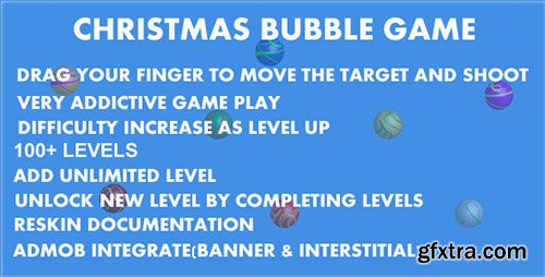 CodeCanyon - Christmas Bubble Game - Android Source Code