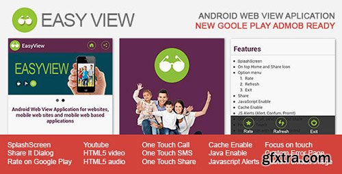 CodeCanyon - EasyView v1.3 - Android WebView App